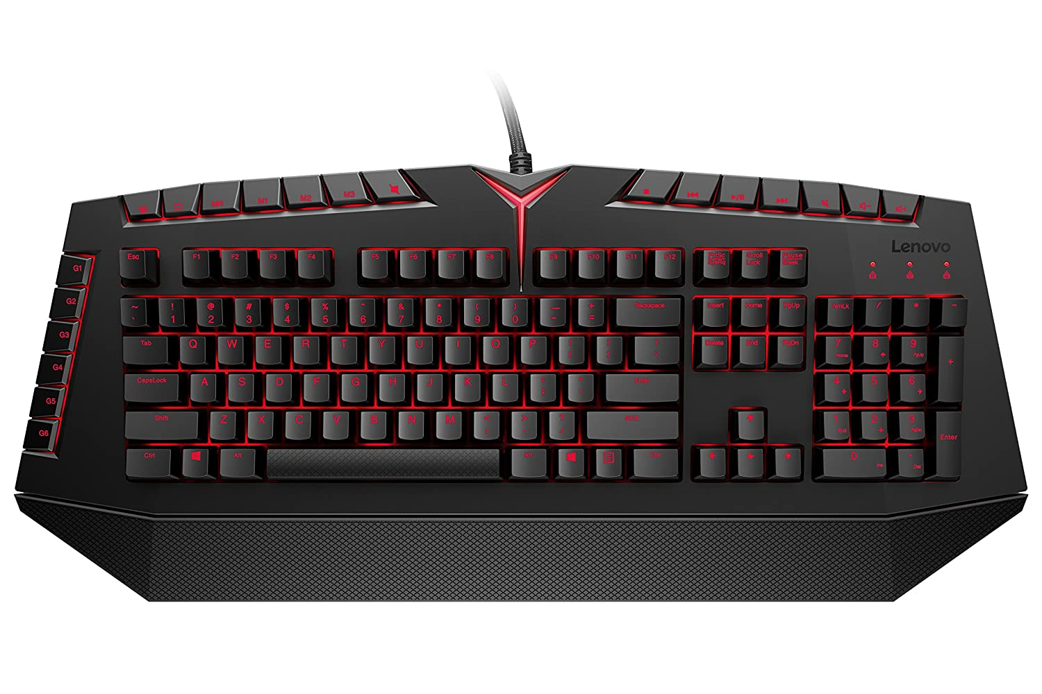 df3024600fe Amazon.com: Lenovo Legion Mechanical Gaming Keyboard, for Lenovo Legion  Y720, Y520, Y530 Gaming Laptops, GX30K04088: Computers & Accessories