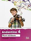 Cuaderno Andantino 4. Primaria - 9788498455564