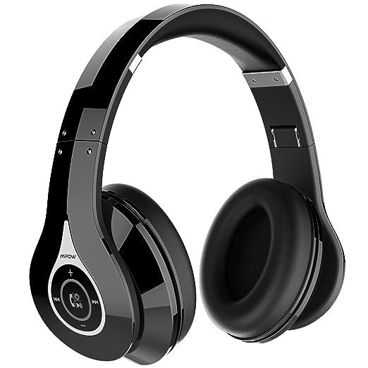 110 opinioni per Cuffie Stereo Bluetooth 4.0 Mpow Cuffie Riduzione del Rumore Interno, Elastici