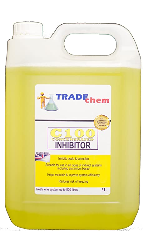 CENTRAL HEATING SYSTEM INHIBITOR (5L) TREATS 500L SYSTEM: Amazon.co ...
