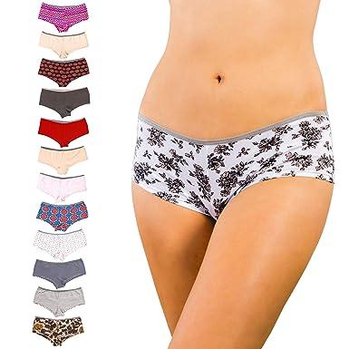 051d117da8f Alyce Intimates Women s Cotton Boyshort Panties