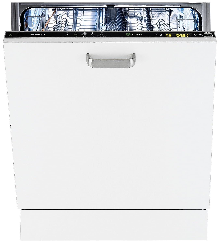 Beko DIN 4630 Totalmente integrado 12cubiertos A+ lavavajilla ...