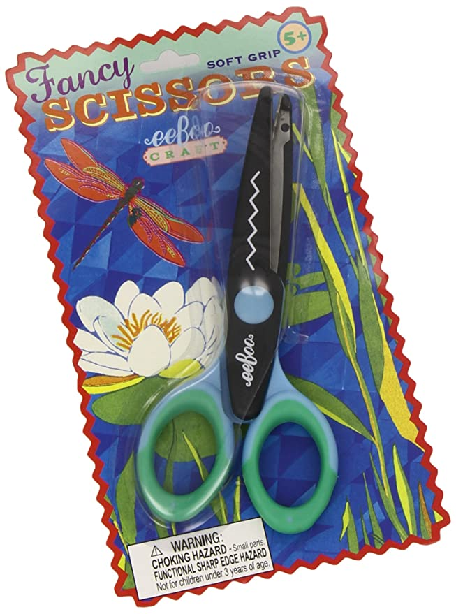Amazon.com: eeBoo Craft Scissors for Kids with Scalloped ...