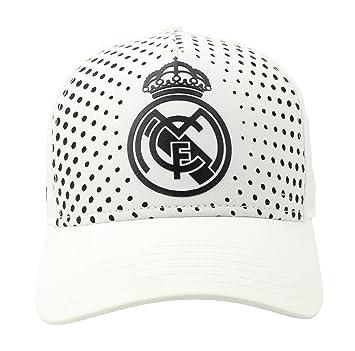 Real Madrid FC Gorra Adulto Producto Oficial 2018/2019: Amazon.es: Oficina y papelería