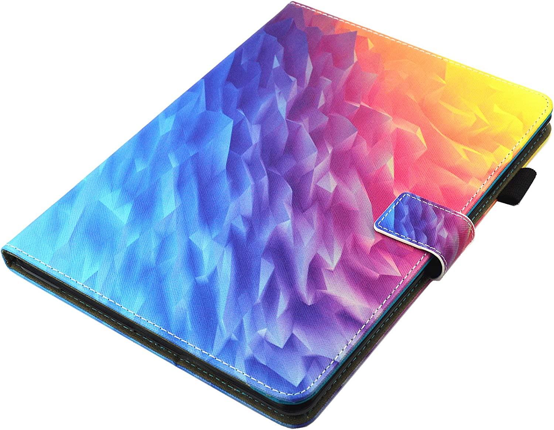 iPad Air 2 //iPad Air//iPad 9.7 2017 Case iPad 5/&6 PU Leather Stand Smart Auto Sleep//Wake Air Bubbles Cards Slots Wallet Flip Cover with for Apple iPad 9.7 2017//iPad Air 1/&2 Anti-Slip