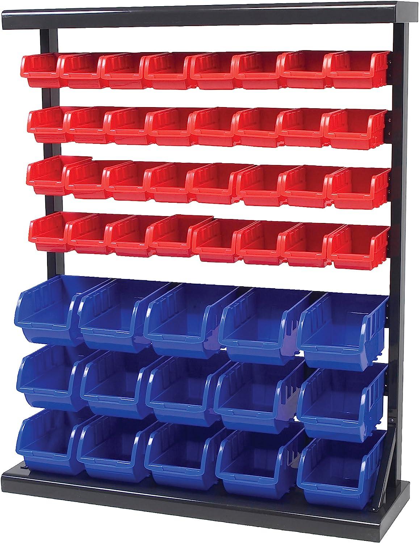 Performance Tool W5193 Half Bulk Bin Storage Rack: Home Improvement