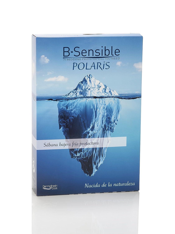 BSensible Polaris, sábana bajera fría y protectora,Tencel, color natural, 70X190: Amazon.es: Hogar