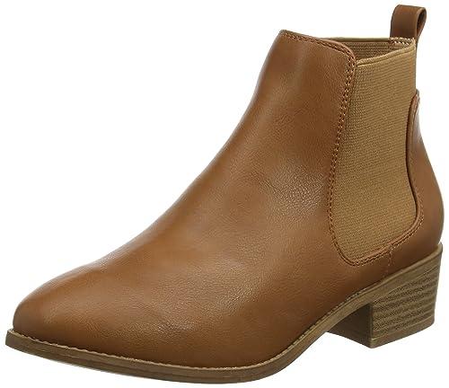 New Look Abstract PU Low, Botas Chelsea para Mujer: Amazon.es: Zapatos y complementos