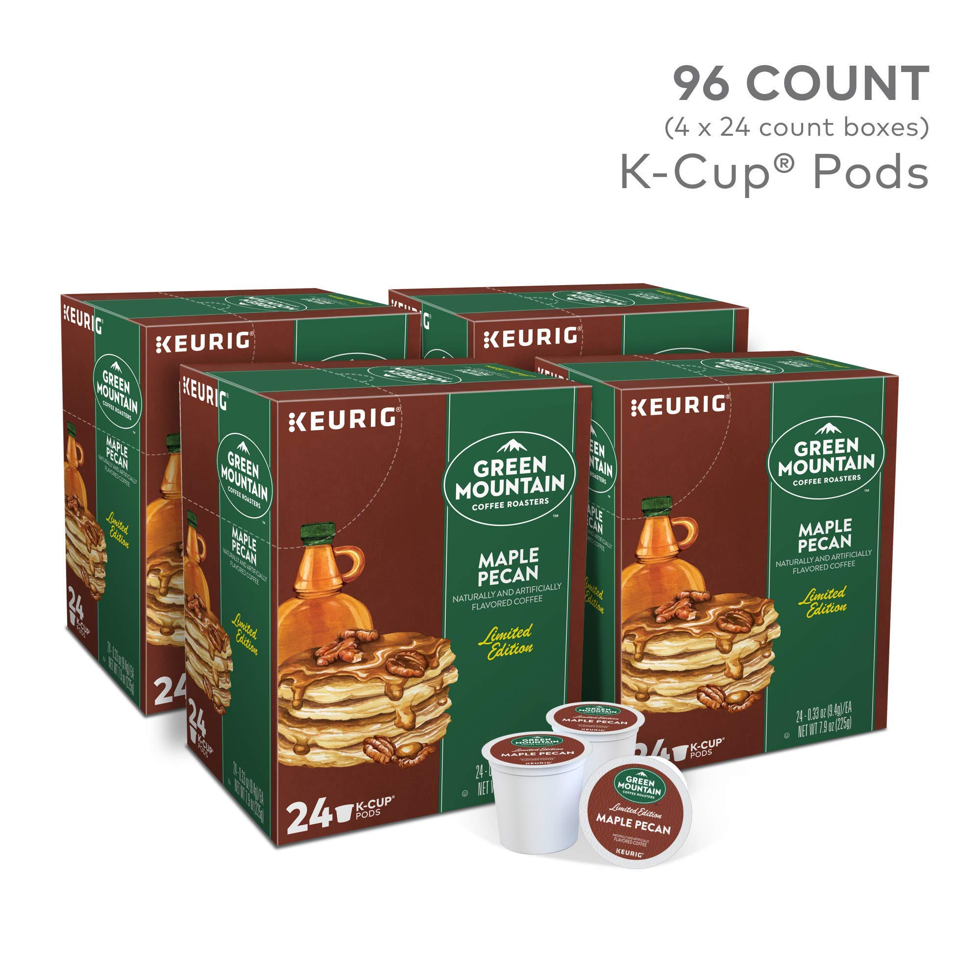 Green Mountain Coffee Roasters  Maple Pecan, 96 Count by Green Mountain Coffee Roasters (Image #2)