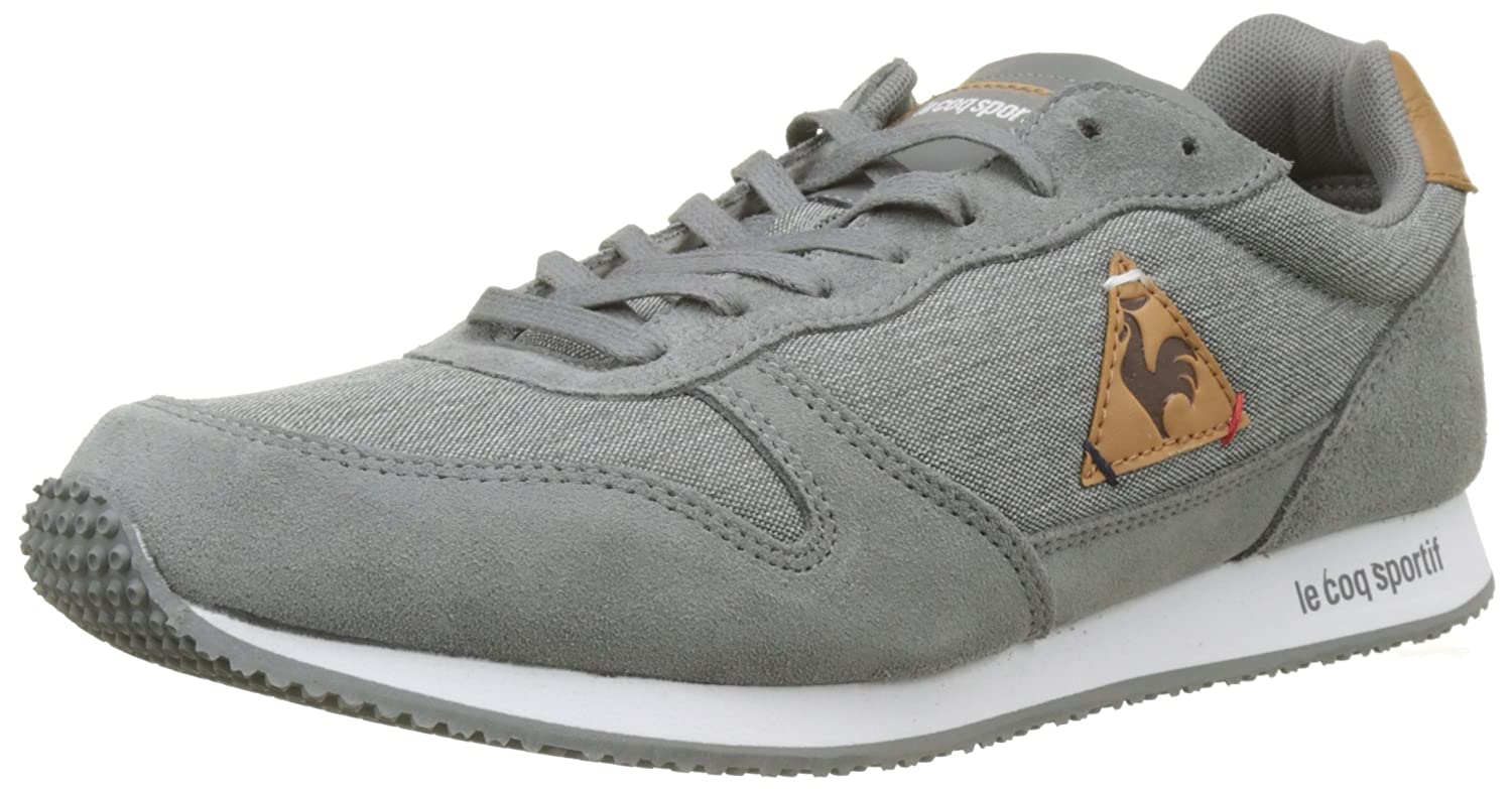 Le Coq Sportif Alpha Craft Grey Denim/Brown Sugar, Zapatillas para Hombre