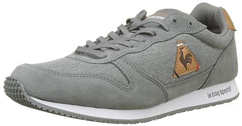 Le Coq Sportif Alpha Craft Grey Denim/Brown Sugar, Zapatillas para Hombre: Amazon.es: Zapatos y complementos