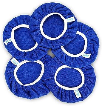set of 2 diameter 240 mm max Microfiber buffing bonnet