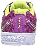 Saucony Baby Girl's Ride Running Shoe, Purple, 11