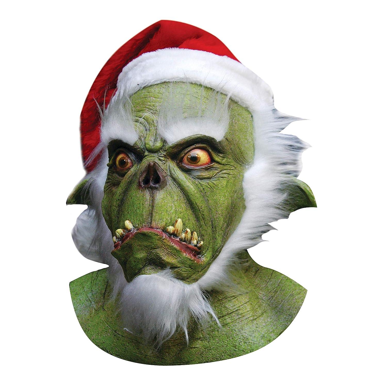 Weihnachtsmann Maske grün für Erwachsene B0058DOSQ6 Masken für Erwachsene Ausgezeichnete Qualität   Outlet Store Online