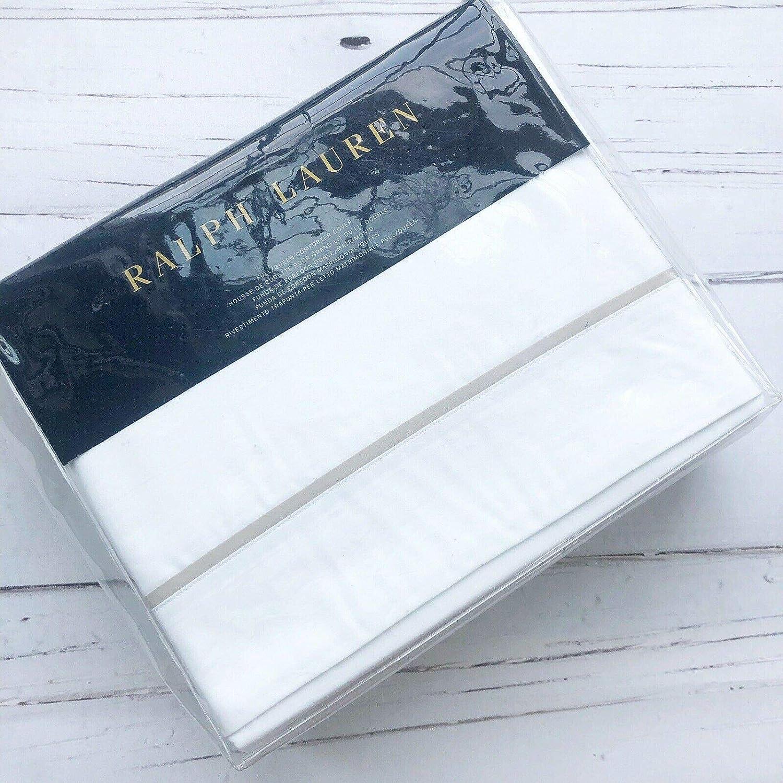 Amazon.com: Ralph Lauren Palmer - King Duvet Cover - Pale ...