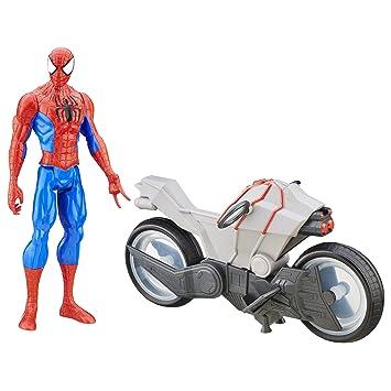 esJuguetes VehículoAmazon Man Ciclo Y Juegos Hombre Spider Araña D2IeEH9YW