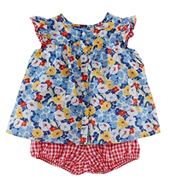2a82085bad Image Unavailable. Image not available for. Colour: Ralph Lauren Baby Girls  2-Piece Floral ...