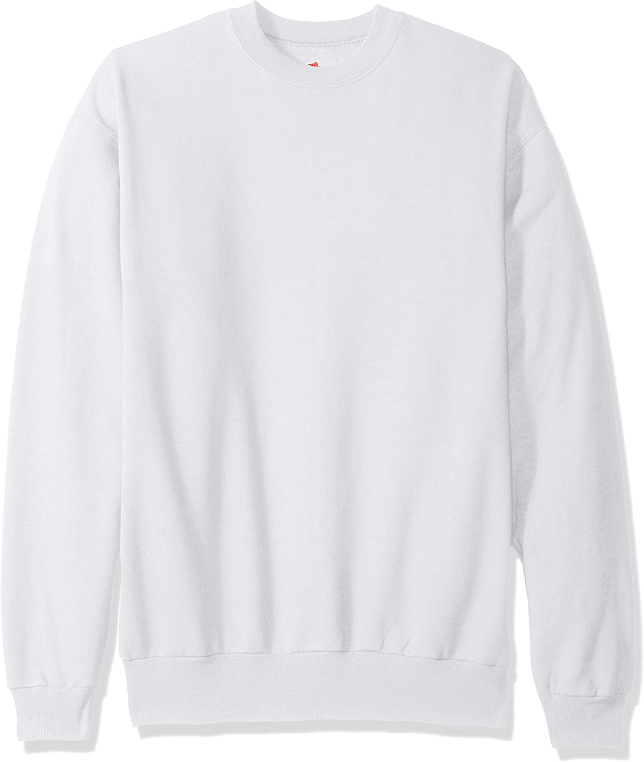 Hanes Men's Ecosmart Fleece Sweatshirt at  Men's Clothing store