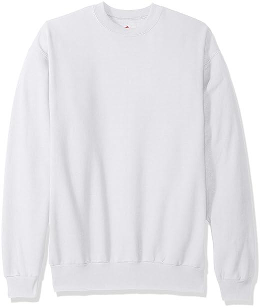 Hanes Men s Ecosmart Fleece Sweatshirt at Amazon Men s Clothing store  d49eb2bb11ac