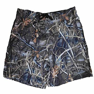 Realtree Mens Brown Max-4 HD Waterfowl Camouflage Board Shorts Swim Trunks S 012bf414d