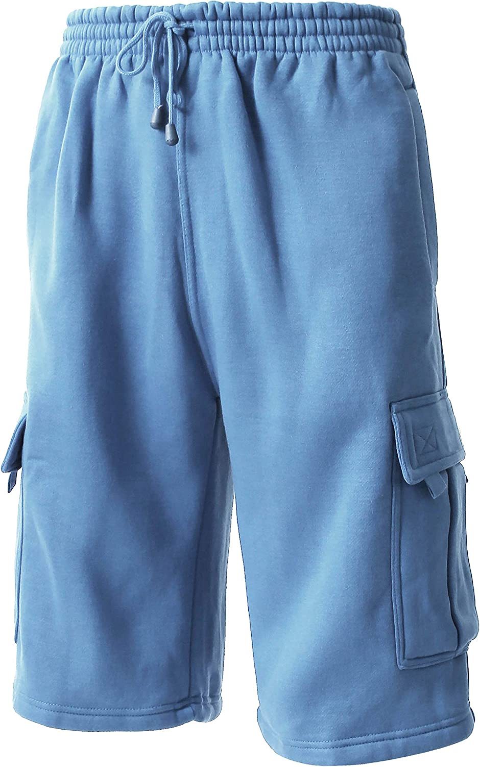 Ma Croix Men Premium Cargo Sweat Shorts & Sweatpants Loose Comfort Fit M-5XL