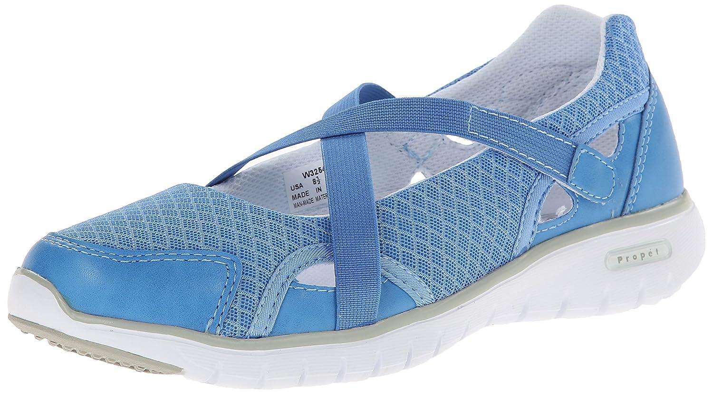 Propet Women's Travellite MJ Walking Shoe B00MUB2CAS 6.5 4E US Periwinkle