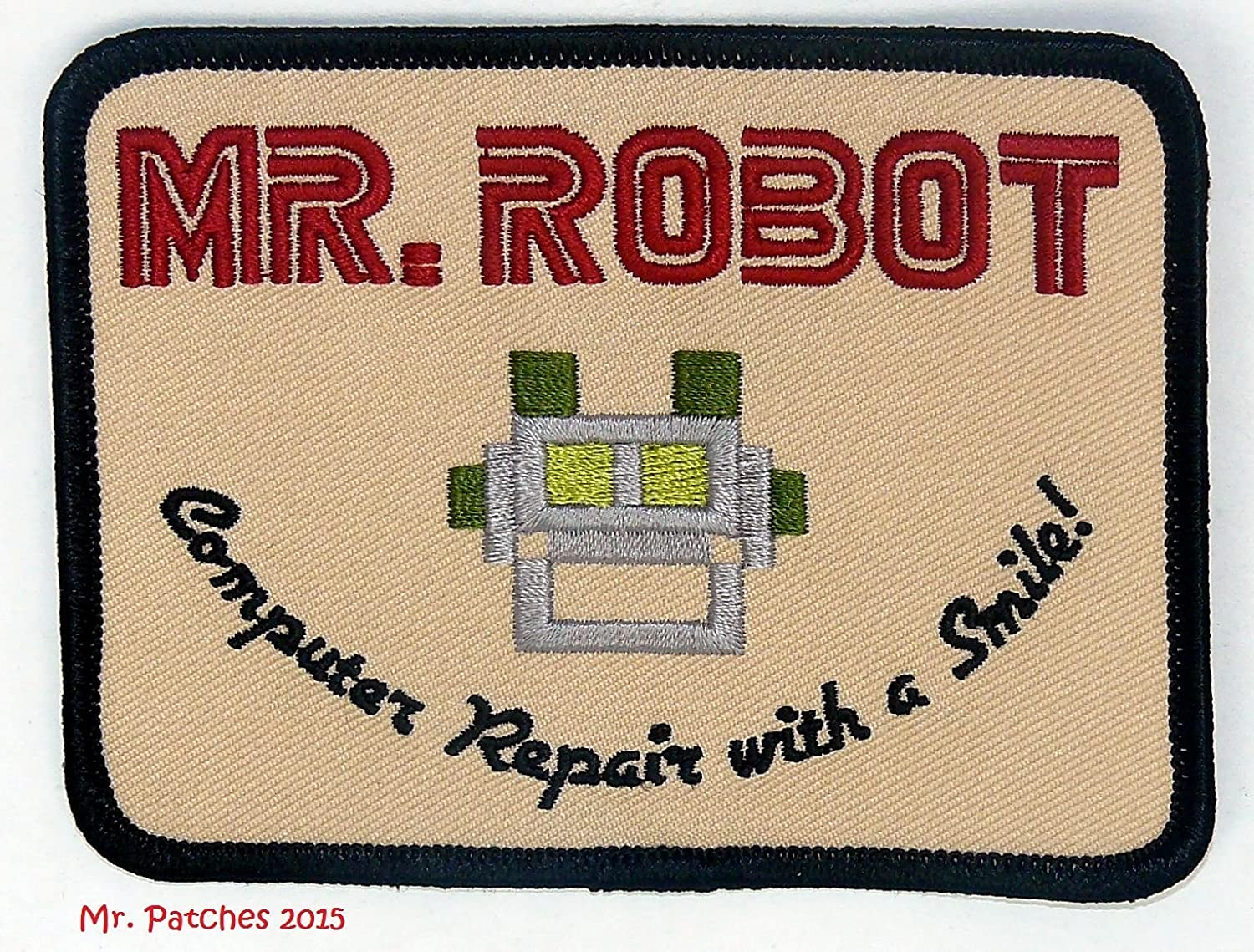 Amazon Mr Robot Fsociety Tv Show Embroidery Patch Halloween
