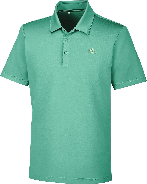 adidas Ultimate 365 Solid Polo de Golf, Hombre, Verde, M: Amazon ...