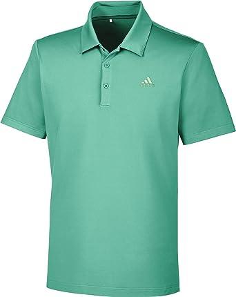 adidas Ultimate 365 Solid Polo de Golf, Hombre, Verde, S: Amazon ...