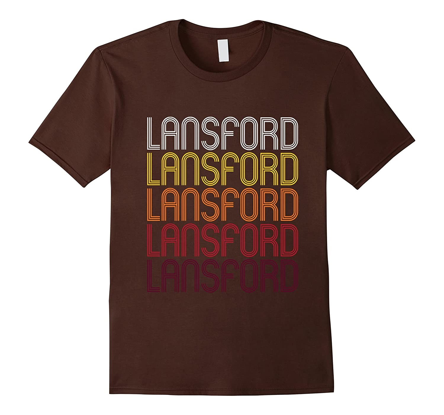 Lansford PA  Vintage Style Pennsylvania T-shirt-TH