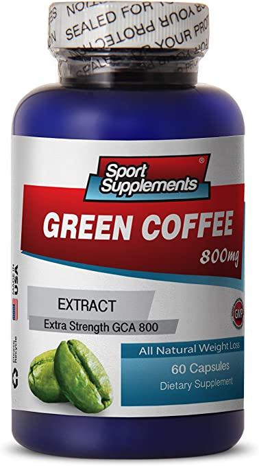 Amazon Com Green Coffee Cleanse Pills Green Coffee Extract 800mg Pure Natural Green Coffee Bean Supplement To Support Weight Loss And Improve Overall Health 1 Bottle 60 Capsules Health Personal Care
