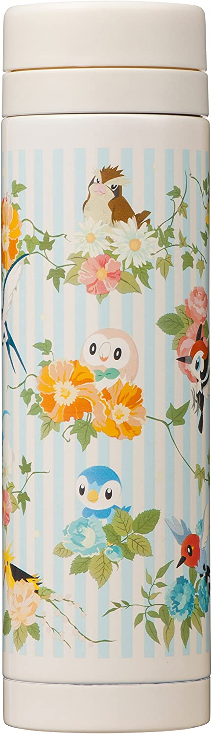 Pokemon Center original stainless steel bottle MOKUROH'S GARDEN