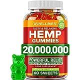 Hеmp Gummies - Delicious Anxiеty & Strеss Relief - Hеmp Oil Extract Gummies - Immune Support, Sleep & Mood Balance - Premium