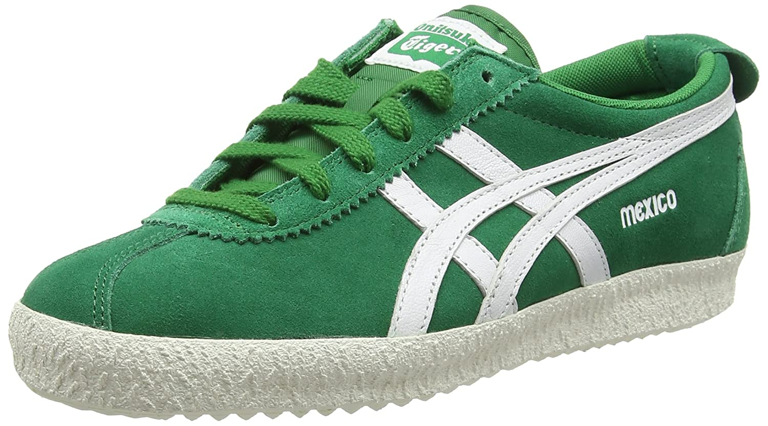 Asics Onitsuka Tiger MEXICO DELEGATION scarpa in Pelle colore Green