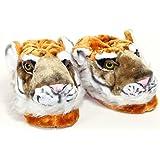 Sleeper'z – Tigre – Zapatillas de casa animales originales y divertidas – Adultos y Niños - Hombre y Mujer