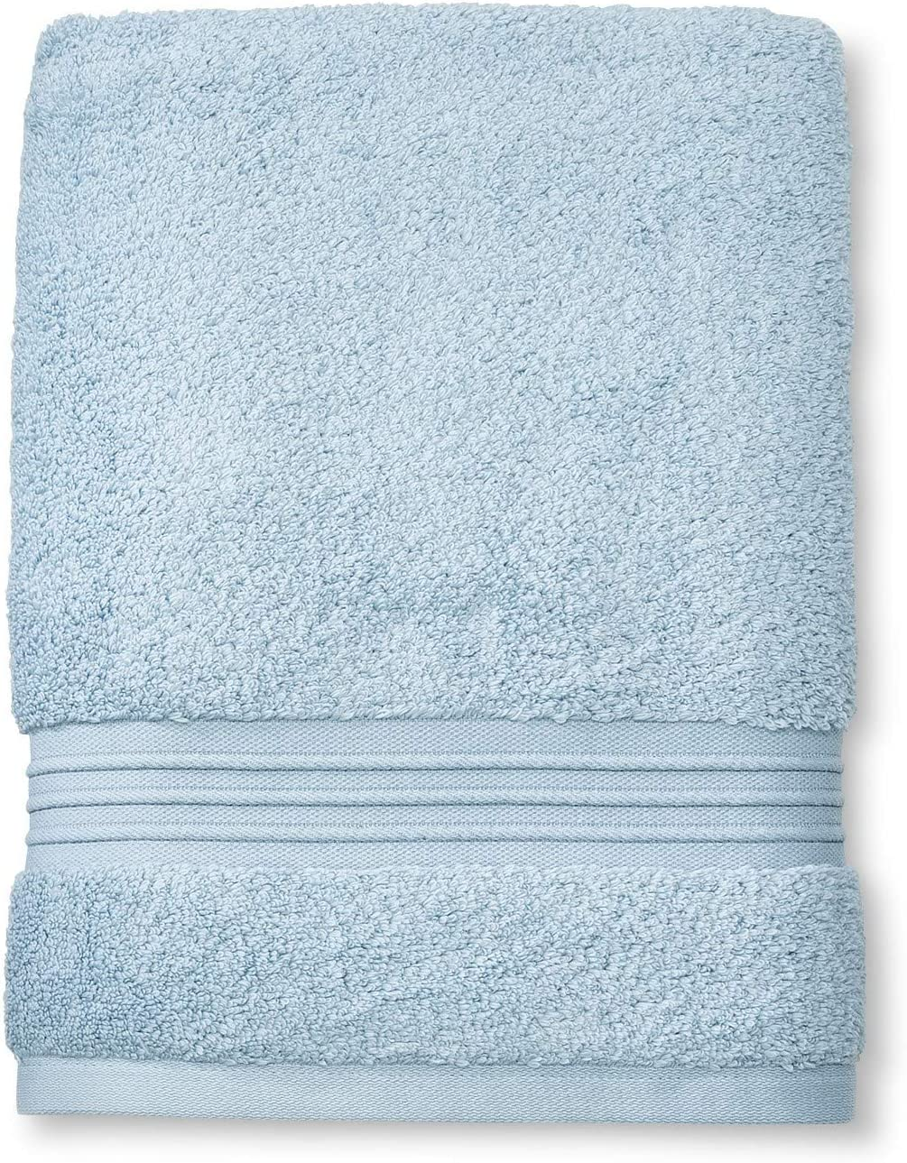 Fieldcrest Spa Collection Glowing Blue Bath Towel