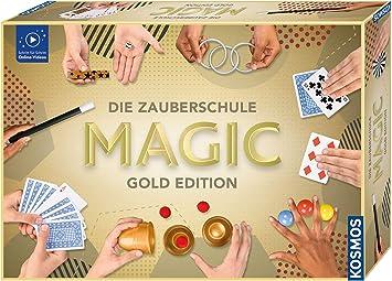 KOSMOS Zaubern Die Zauberschule Magic Deluxe Plus Edition Zaubertricks 698805