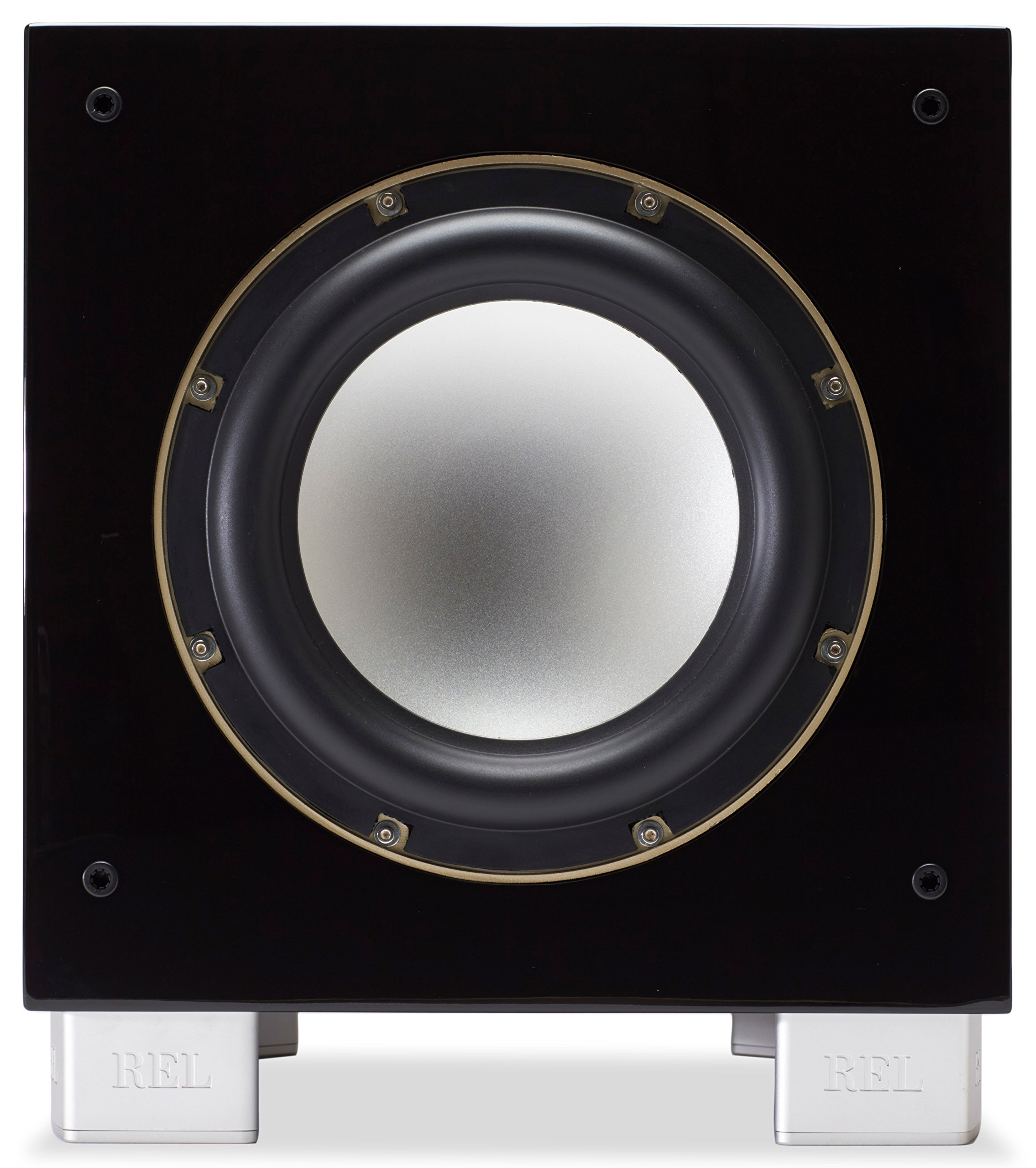 REL Acoustics S/3 SHO Subwoofer (Super High Output), Longbow Wirless compatible, Black Lacquer