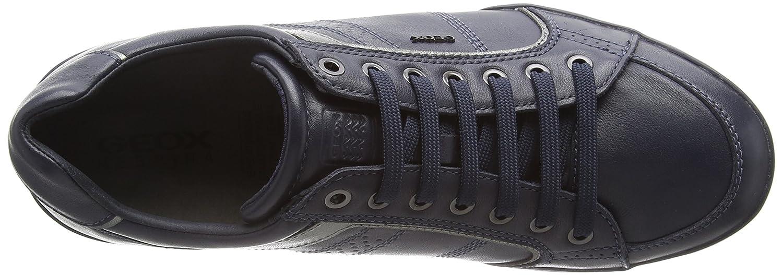 Geox U Kristof a, Zapatillas para Hombre, Schwarz (Black/GUNC9B1G), 46 EU amazon-shoes el-negro Cuero