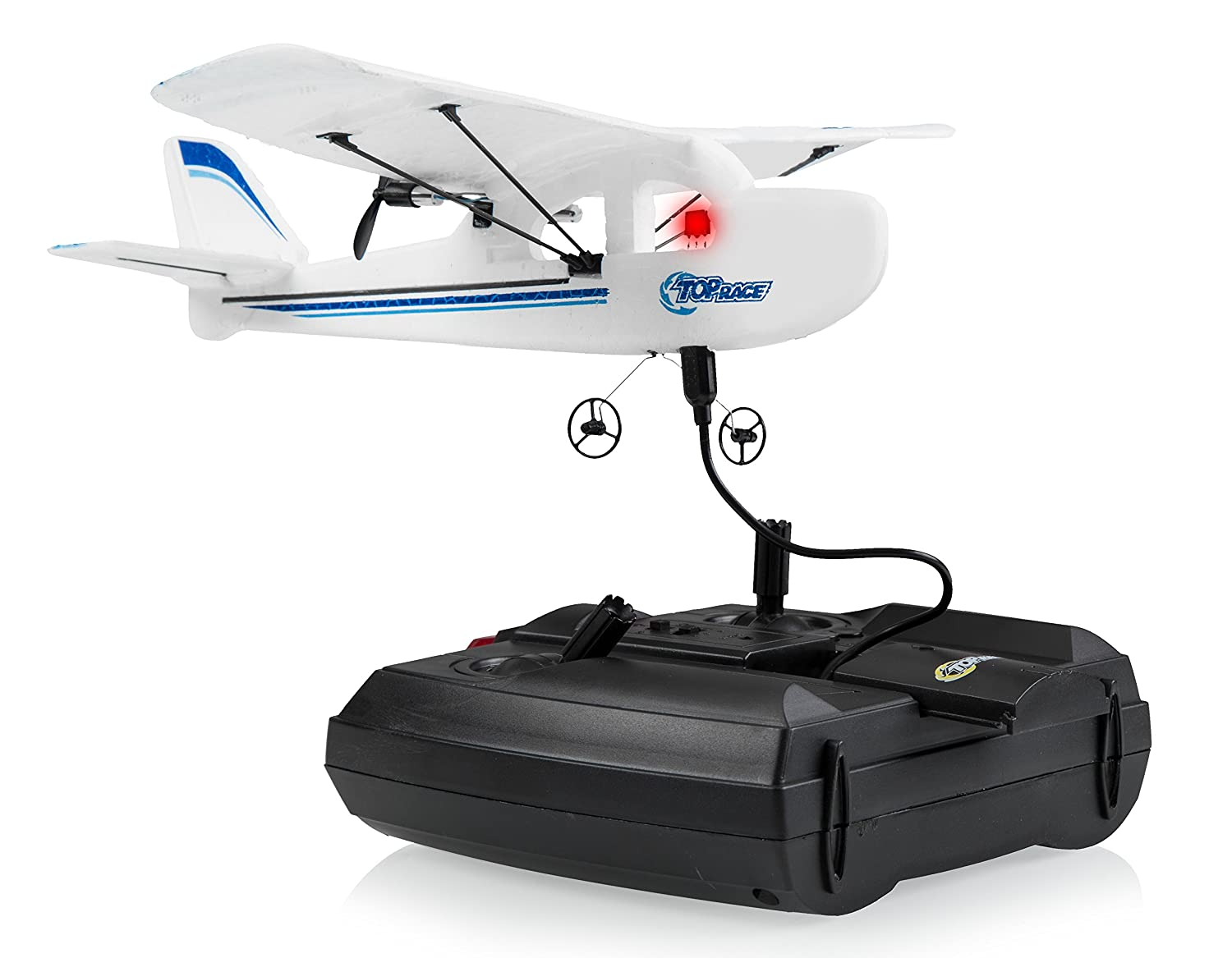 Top Race Cessna C185 Electric 2 Ch Infrared Remote Radio Control Circuit For Rc Planes Airplane Rtf Colors Vary Toys Games