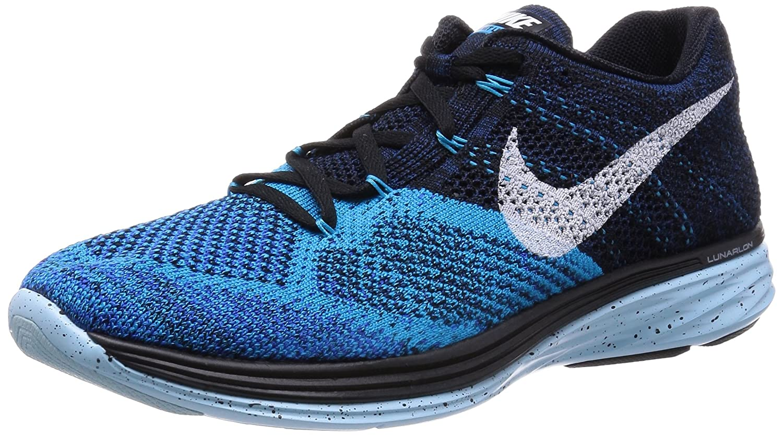 Nike NIKE FLYKNIT LUNAR3  10 BLACK/TTL ORNG-LT RTR-LGHT AQ