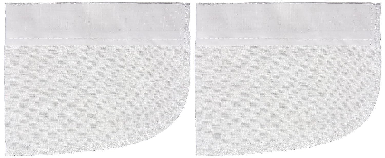 Dritz 55457-61 Iron-On Repair Pocket, White, 2-Pack Prym Consumer USA
