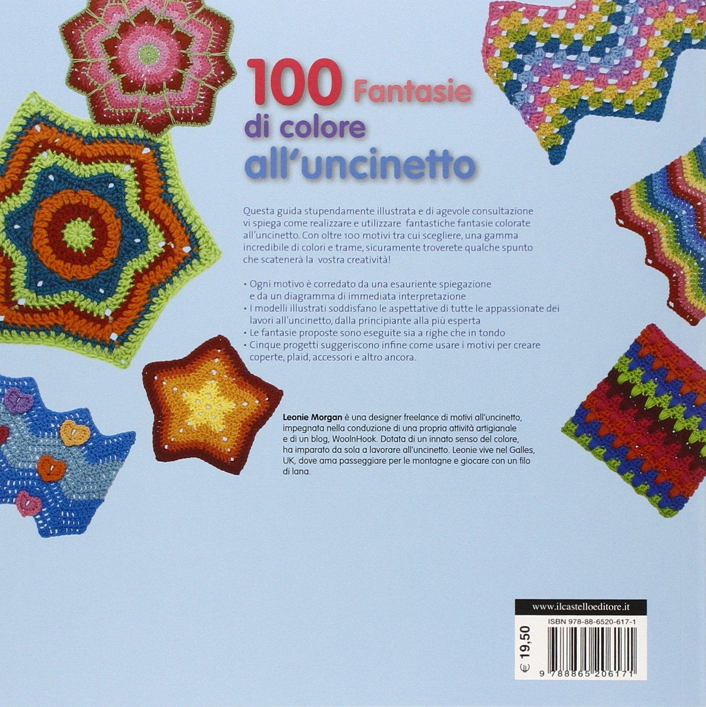 Amazonit 100 Fantasie Di Colore Alluncinetto Leonie Morgan Libri