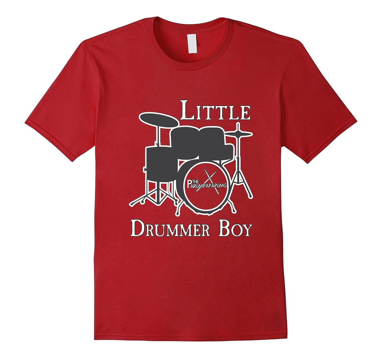 fd6e2e82 Little Drummer Boy Percussionist Christmas Tee Shirt-FL - Sunflowershirt