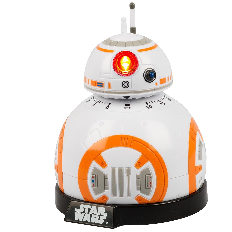 Star wars Epvii: SW02722 Kitchen Timer: Bb-8 (Light And Sound), Orange/white Under Ground Toys