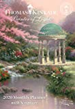 Thomas Kinkade Painter of Light With Scripture Monthly Pocket Planner 2020 Calendar