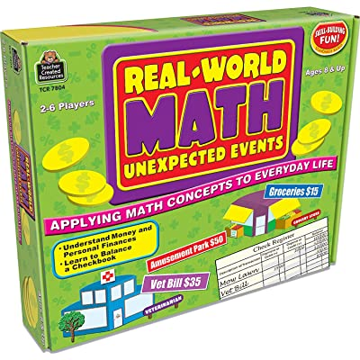 Real-World Math: Unexpected Events, Applying Math Concepts to Everyday Life (Teacher Created Resources 7804): Office Products
