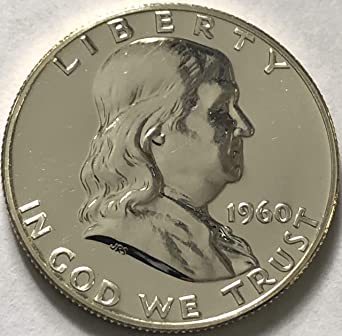1960 D Franklin Half Dollar BU Roll