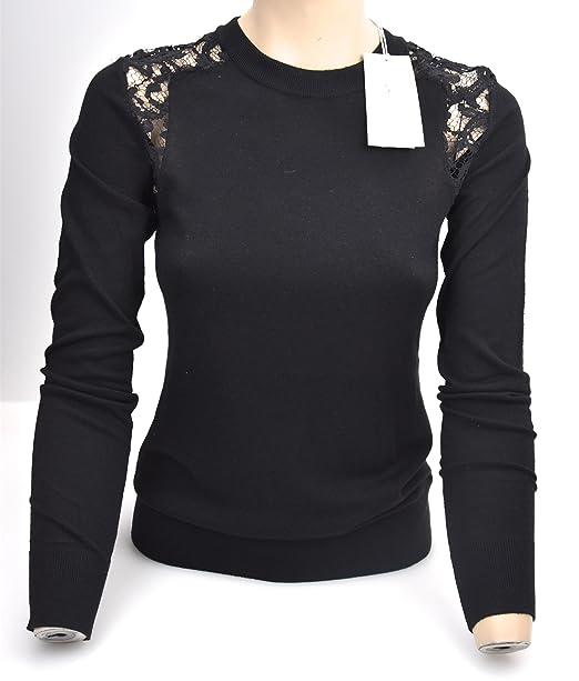 Michael Kors Camisa Manga Larga Para Mujer Negro Art. MF66N280WP XS Black - Nero: Amazon.es: Ropa y accesorios