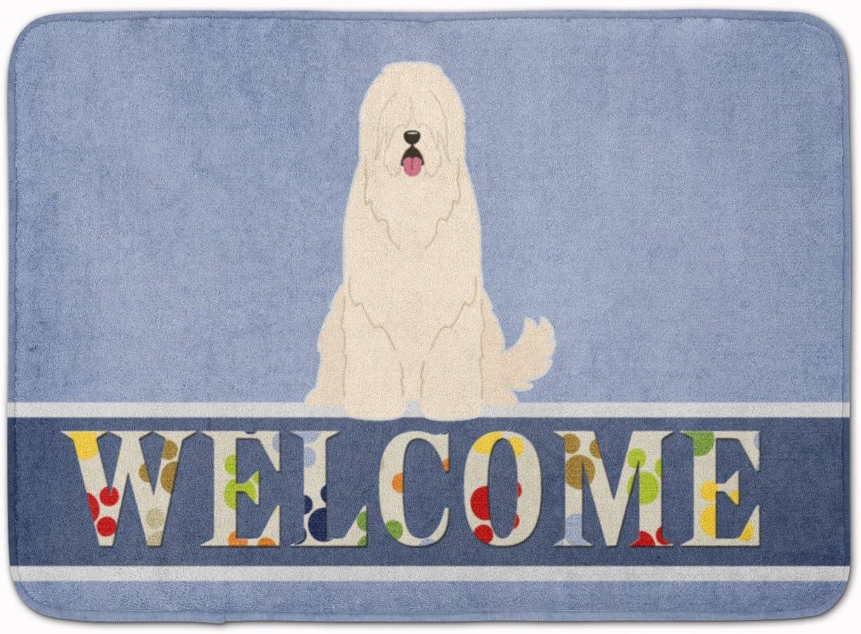 Carolines Treasures Poodle Welcome Floor Mat 19 x 27 Multicolor